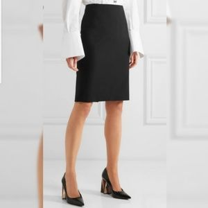 Theory Suiting Black Pencil Skirt Black - 10